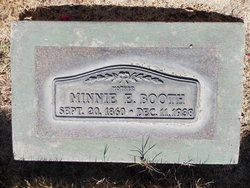 Mary Elizabeth Minnie <i>Woods</i> Booth