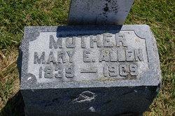 Mary E <i>Ellis</i> Allen