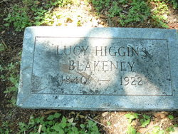 Lucy <i>Higgins</i> Blakeney