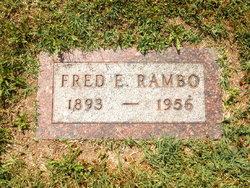 Fred E Rambo