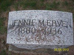 Jennie Margaret <i>Hawk</i> Erven