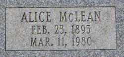 Alice <i>McLean</i> Edgerley