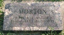 Martha Amanda Mattie <i>Dodds</i> Morton