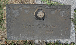 Mary Catherine <i>Dewyer</i> Brown