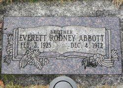 Everett Rodney Abbott
