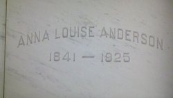 Anna Louise <i>Carlson</i> Anderson