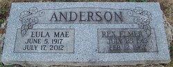 Eula Mae <i>Terry</i> Anderson Downey