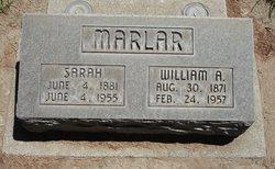 Sarah Patricia <i>Ratcliff</i> Marlar