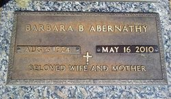 Barbara <i>Britt</i> Abernathy