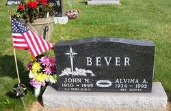 Alvina A <i>Merten</i> Bever