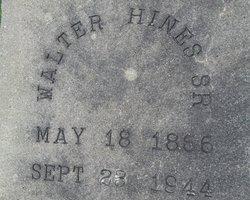Walter Hines, Sr