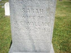 Sarah <i>Leonard</i> Wallace