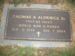 Thomas Alexander Aldridge, Sr