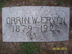 Orrin Williams Erven