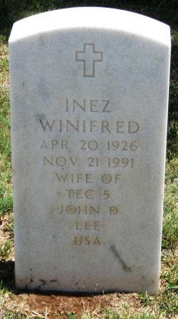Inez Winifred Lee