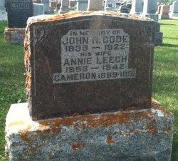 Annie <i>Leech</i> Code