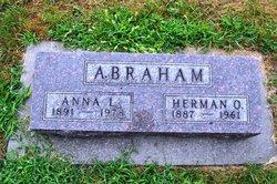 Anna Louisa <i>Fredrickson</i> Abraham
