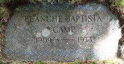 Blanche E <i>Baptista</i> Camp