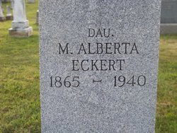 M Alberta <i>Laverty</i> Eckert