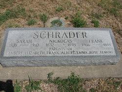 Sarah Ann <i>Woodring</i> Schrader