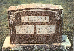 Mary Elizabeth <i>Guthrey</i> Gillespie