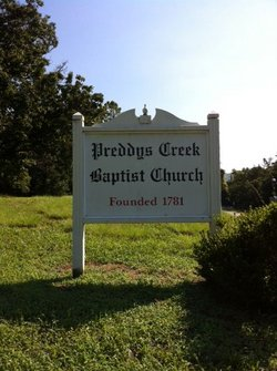 Preddys Creek Baptist Church Cemetery