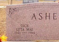 Leta Mae Dick <i>Stewart</i> Asher