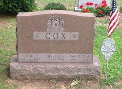 Myrtle I <i>Getman</i> Cox