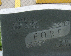James S Fore