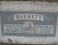 Venna Faye <i>Richins</i> Barrett