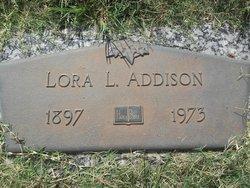 Lora Lillian <i>Douglas</i> Addison