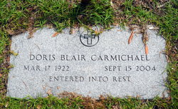 Doris Blair <i>Wiggins</i> Carmichael