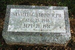 Neville Guy Todd