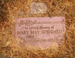 Mary May <i>Lawton</i> Goddard