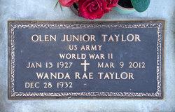 Olen Junior Taylor