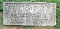 Esther <i>Wootton</i> Anderson