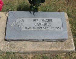 Opal Maxine Garriott