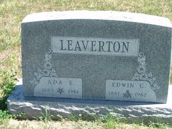 Ada E. <i>Denning</i> Leaverton