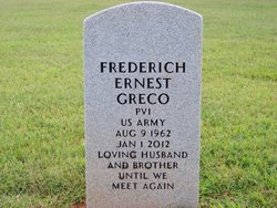 Pvt Frederich Earnest Fred Greco