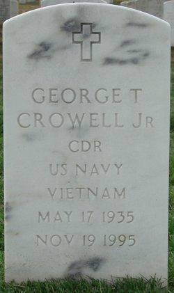 CDR George Thomas Crowell, Jr