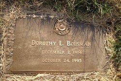 Dorothy L <i>Henry</i> Bousman