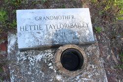 Hettie <i>Taylor</i> Bailey
