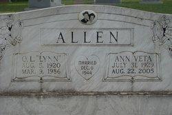 Ann Veta <i>Osborne</i> Allen