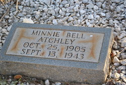Minnie Bell <i>Bates</i> Atchley