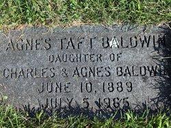 Agnes Taft Baldwin