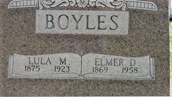 Lula M. <i>Johnson</i> Boyles