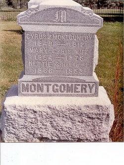Mary Edna <i>Saunders</i> Montgomery