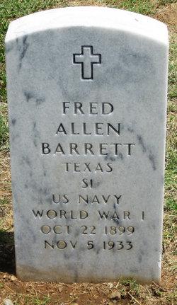 Fred Allen Barrett