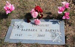 Barbara A. <i>Lawrence</i> Barnes