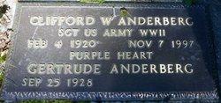 Clifford W Anderberg